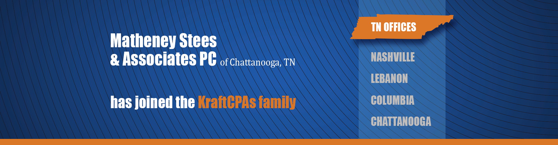 KraftCPAs acquires Chattanooga firm